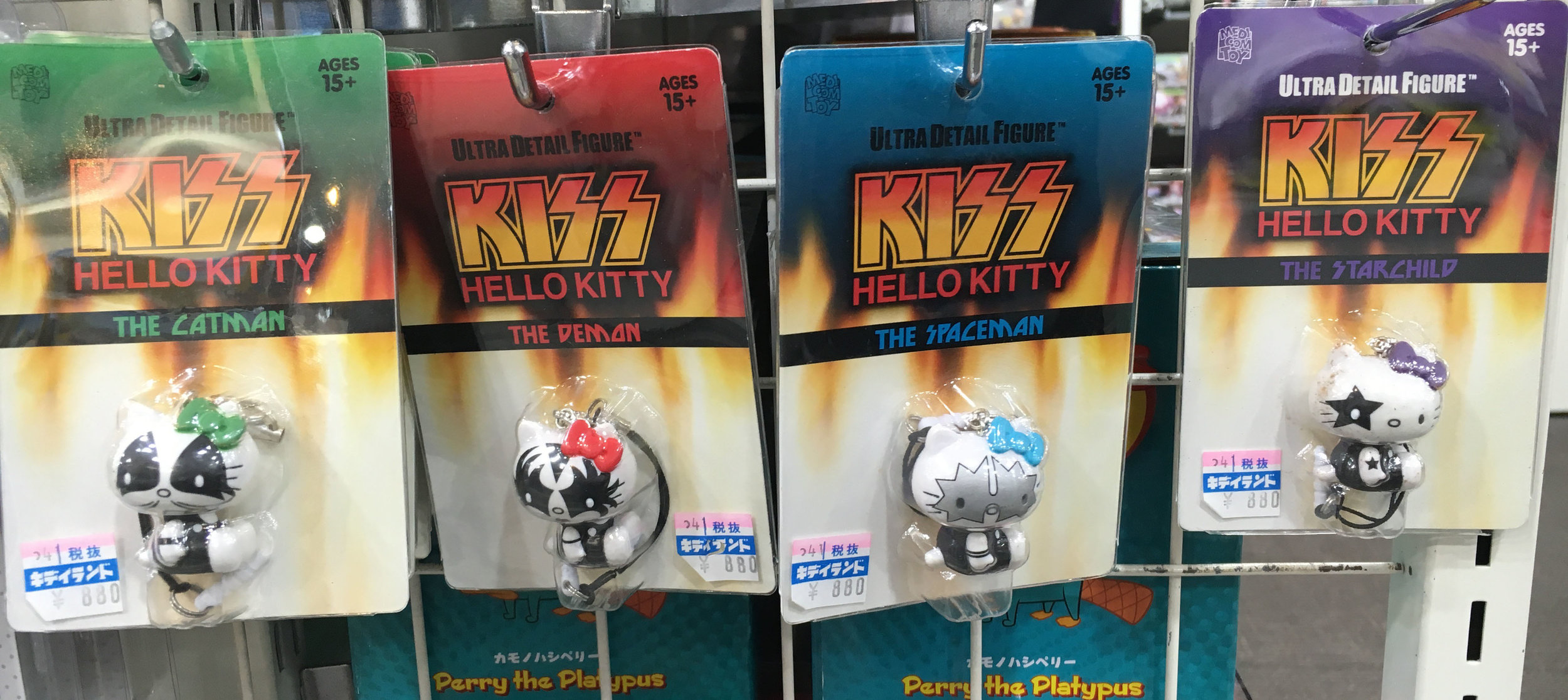 Who would have ever thought Kiss Hello Kitty would be a thing? #OnlyInJapan