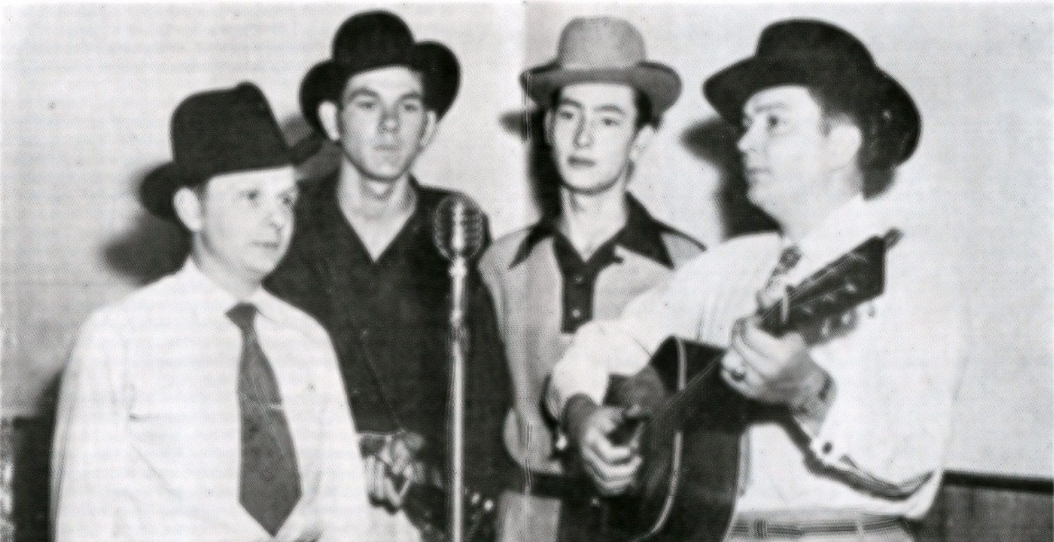 Ralph Stanley, Jim Williams, Art Stamper, and Carter Stanley
