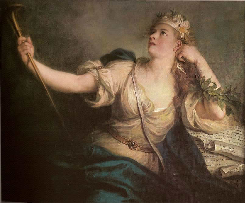 Charles-Antoine Coypel - La Muse Calliope From Wikimedia Commons