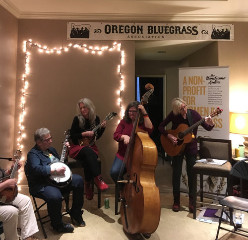 Wintergrass… warming up in the winter with music and friends  — The