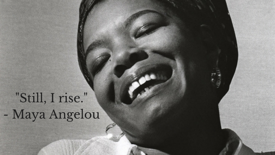 P.S. If you are in need of an inspiring voice or heartfelt reminder of how we can create change and spread love, check out Maya Angelou's poem, Still I Rise, by clicking an image above. Her words and her being are captivating.