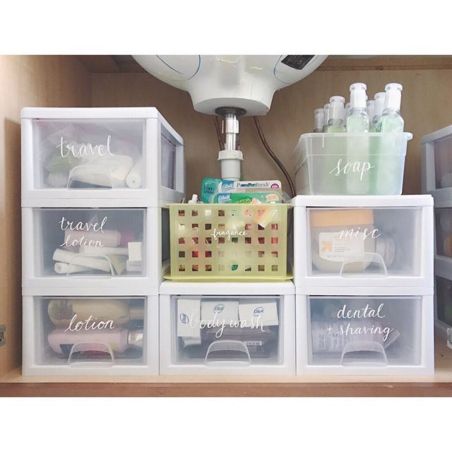 ✨#simpleorganizingtips: This 6-pack of #Sterilite bins fits in most standard-size under-sink bathroom cabinets (in one configuration or another), and is a fast and affordable way to transform that cavernous & disorganized area. . ⠀⠀⠀⠀⠀⠀⠀⠀⠀ ⠀⠀⠀ Some people put a few open bins on the bottom of the cabinet to split up items, but if you need more storage space, take a tip from New Yorkers and go UP! 🏙 .⠀⠀⠀⠀⠀⠀⠀⠀⠀ ⠀⠀⠀⠀⠀⠀⠀⠀⠀ ⠀⠀⠀ 👉🏼 Swipe for before! 🔗 Link in bio to find these bins on Amazon .⠀⠀⠀⠀⠀⠀⠀⠀⠀ #getorganized #homeorganizer #thingsorganizedneatly #gettingorganized #cabinetorganization #organizeyourlife #underthesinkorganization #organizedliving #cleanhomehappyhome #letsgetorganized #smartstorage