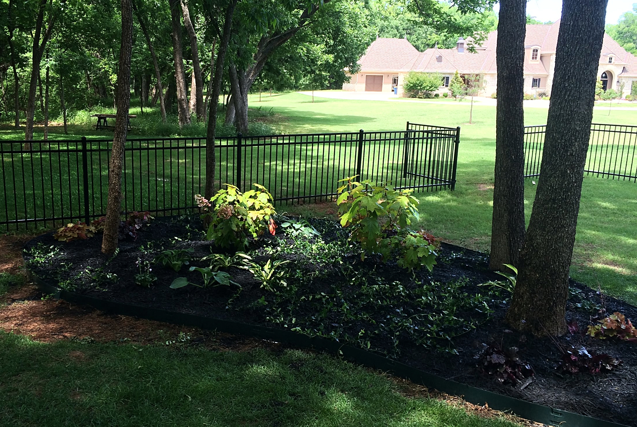 Shade garden add on in Berry Creek