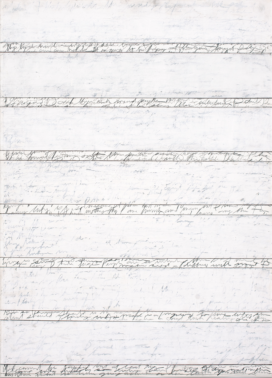 Should 1,2013 26 1/2 by 21 inches Paint and graphite on paper