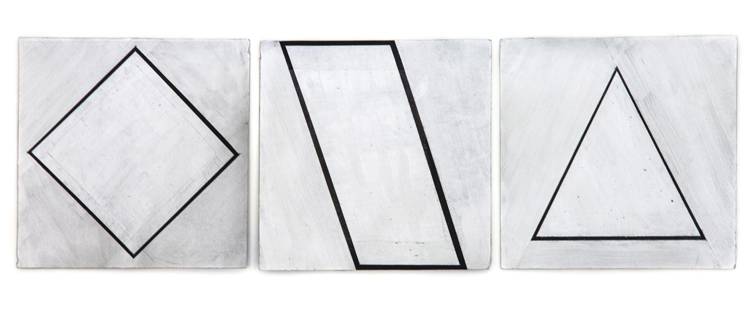 Silver Shape 1 - 2 - 3, 2015