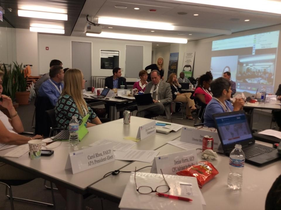 APA Board, AICP Commission and staff working on a new direction for the association.