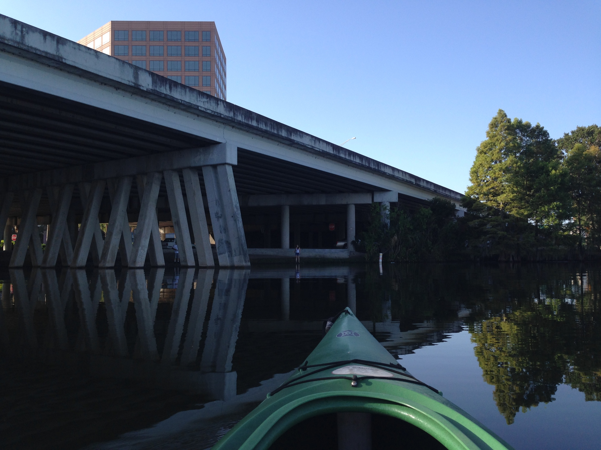 The Ivanhoe off-ramp creates a visual and physical barrier to Downtown Orlando.
