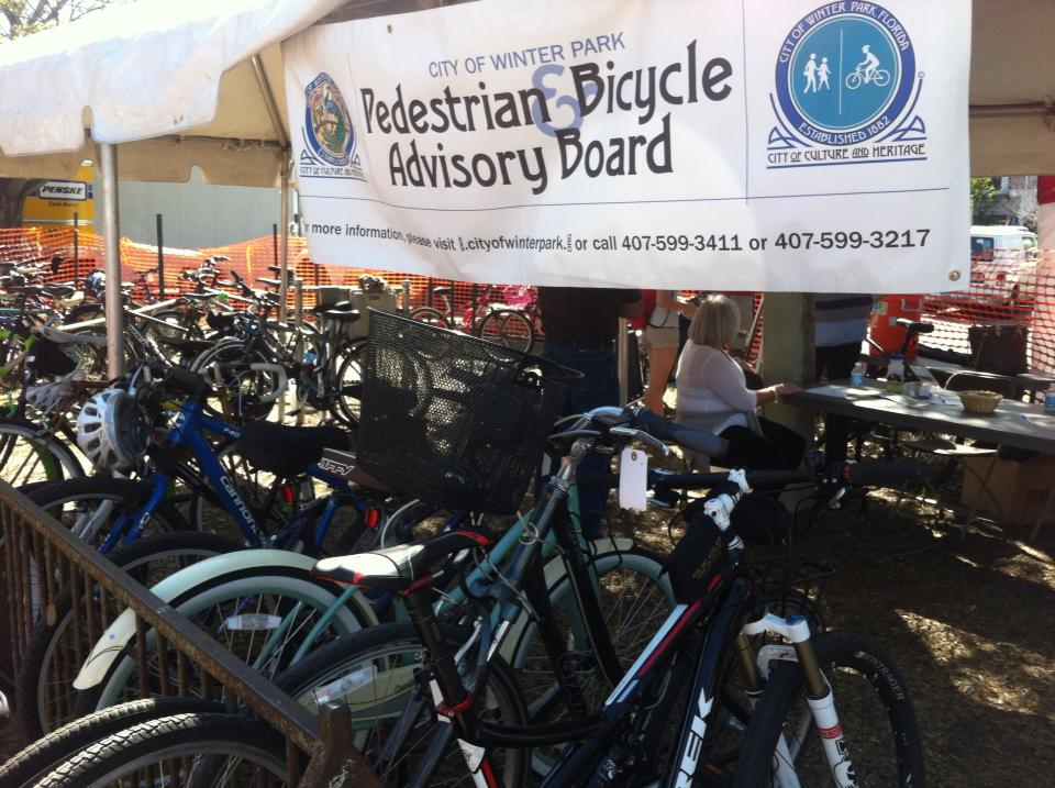 picture of bike valet