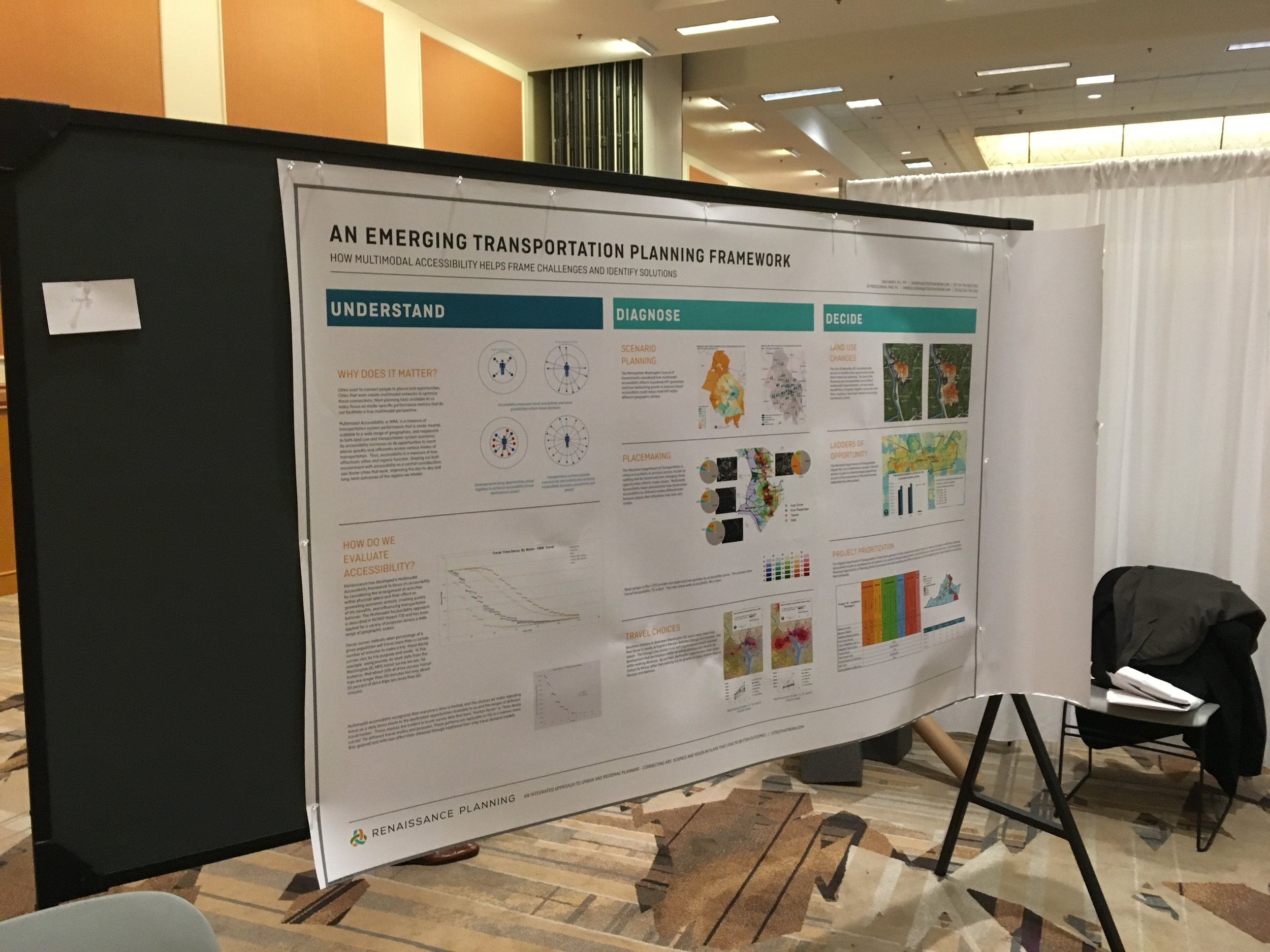 Renaissance Poster Session on Accessibility at ITE Conference