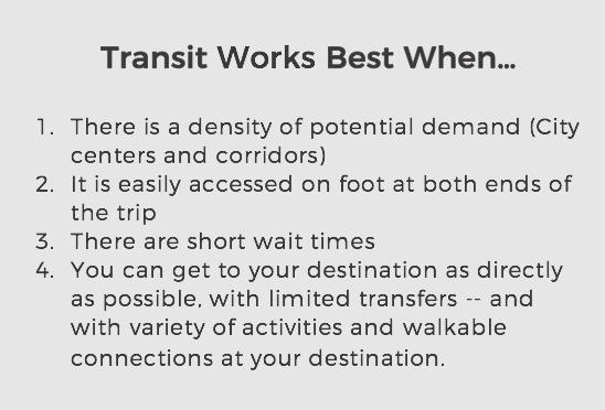 transit works when