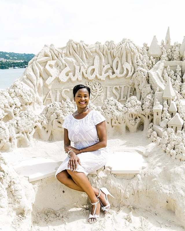 Say what? @GoodMorningAmerica 🌴✈️ My images were used in a story about travel dream jobs. Hello, Marsha-Ann Brown the Director of Romance at @SandalsResorts!! Link in bio 💕✨ - Photography by @BrandiGard - - #aisletoisle #dreamjob #tropicalvibes #travel #WeddingMoons #NoWorryMovement #honeymoon #BrandiGardStudios #SandalsResorts #travelphotographer #brandclient #Sandals #brandphotographer #happythankyoumoreplease #beachvibes #vitaminsea #luxurylifestyle