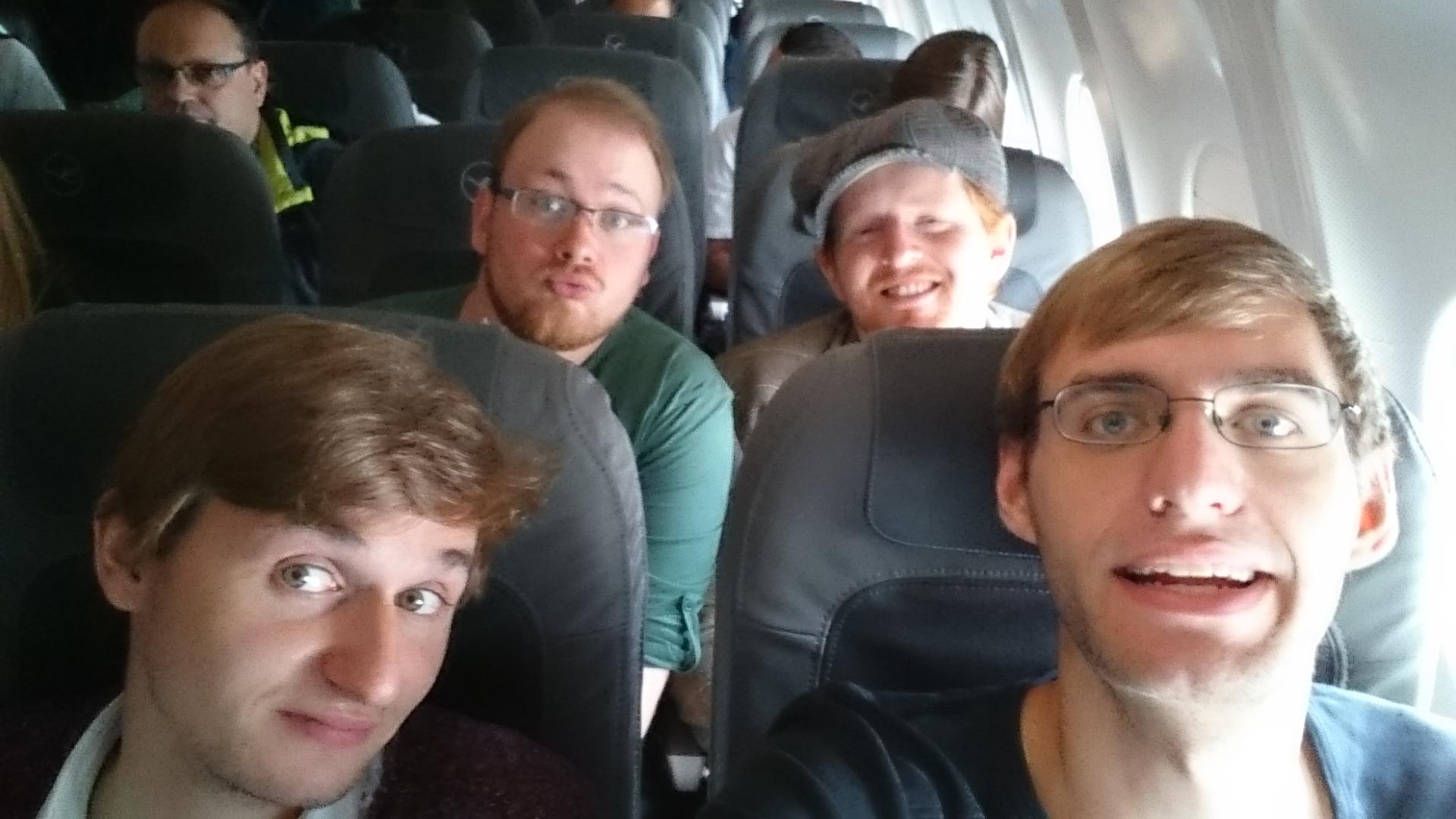 Flight back to Germany