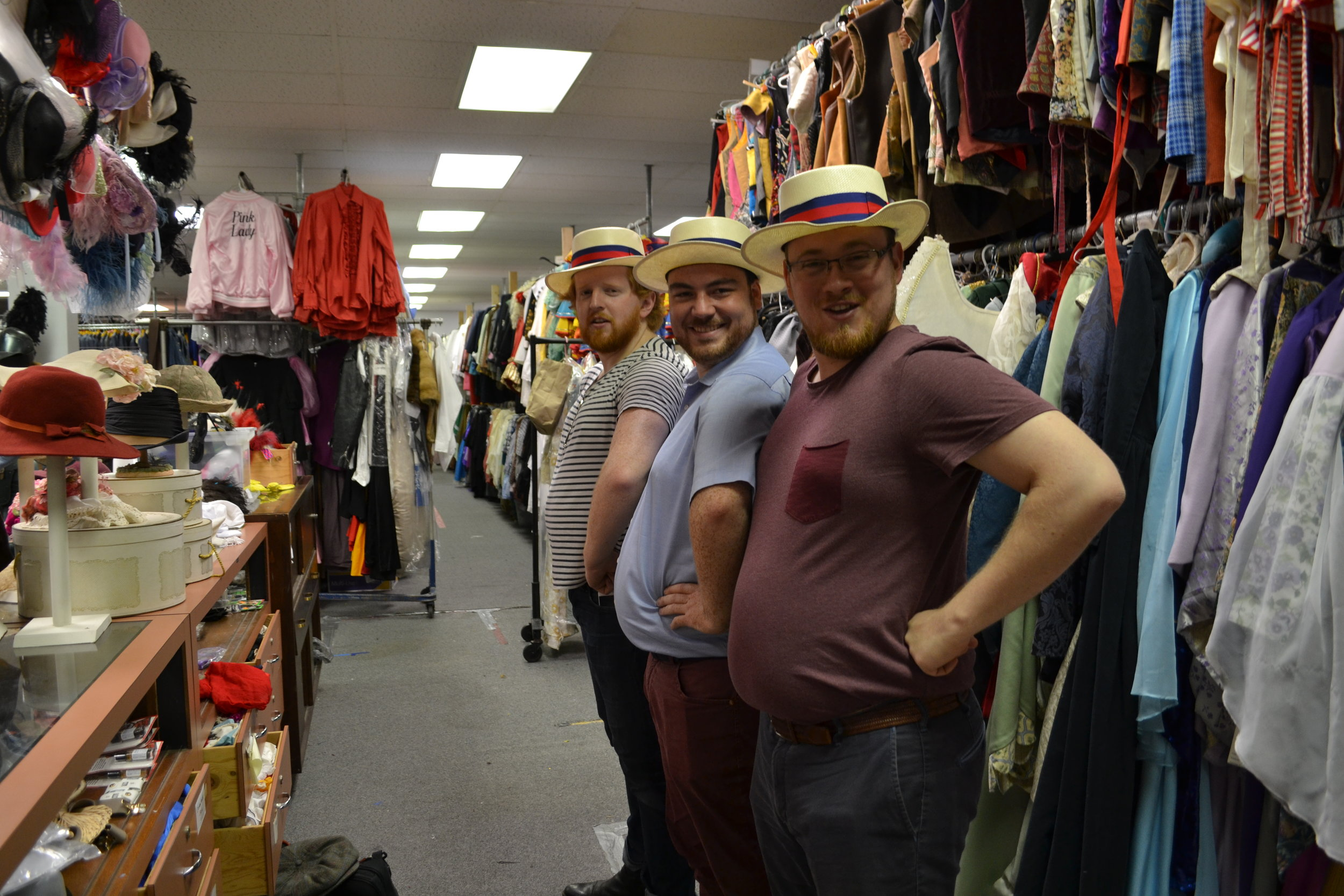 Besuch im Fundus | visiting the costume Shop