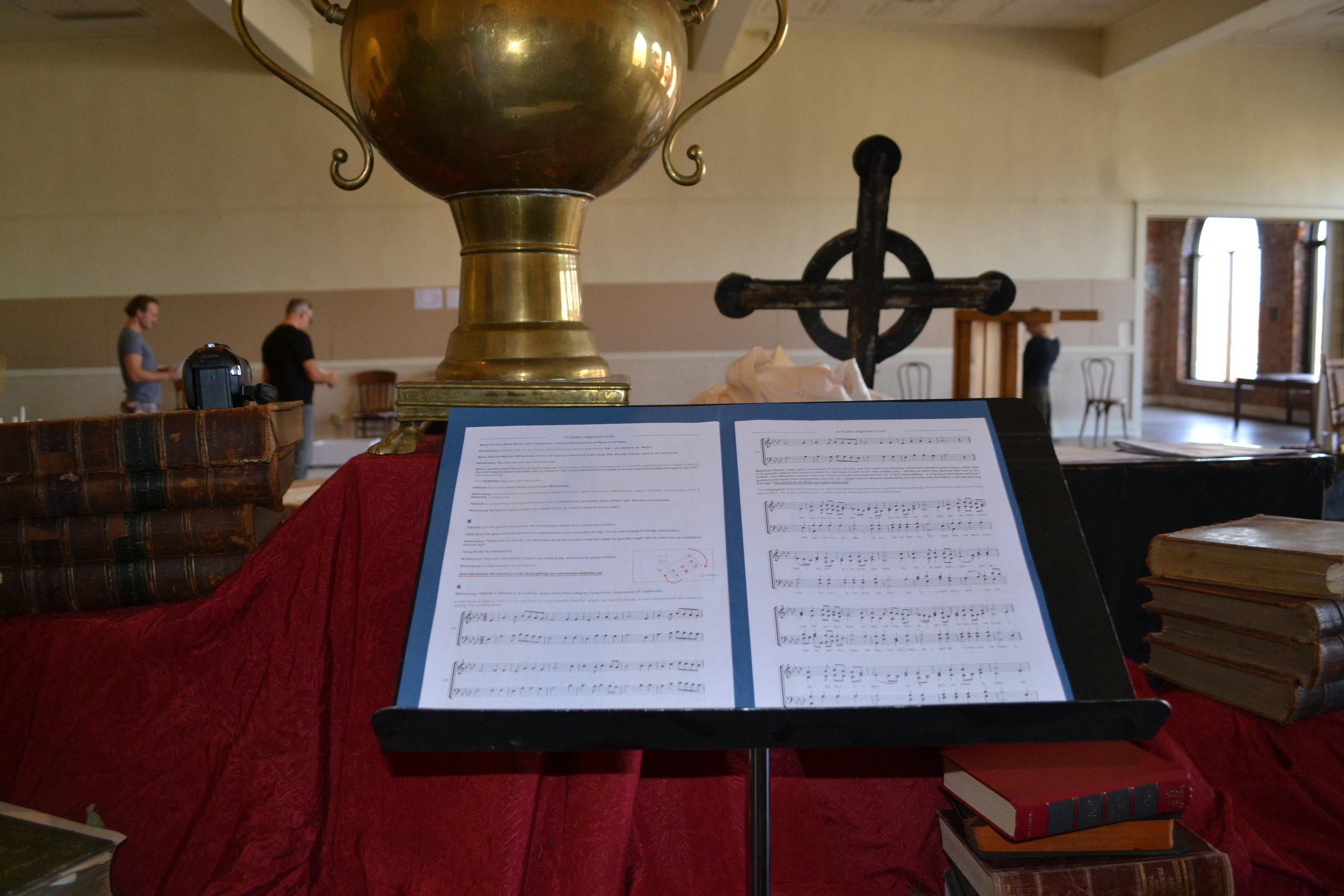 Proben für die Kurzversion | Rehearsal for the condensed version