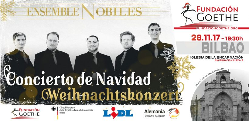 Weihnachtskonzert 2017: Ensemble Nobiles in Bilbao