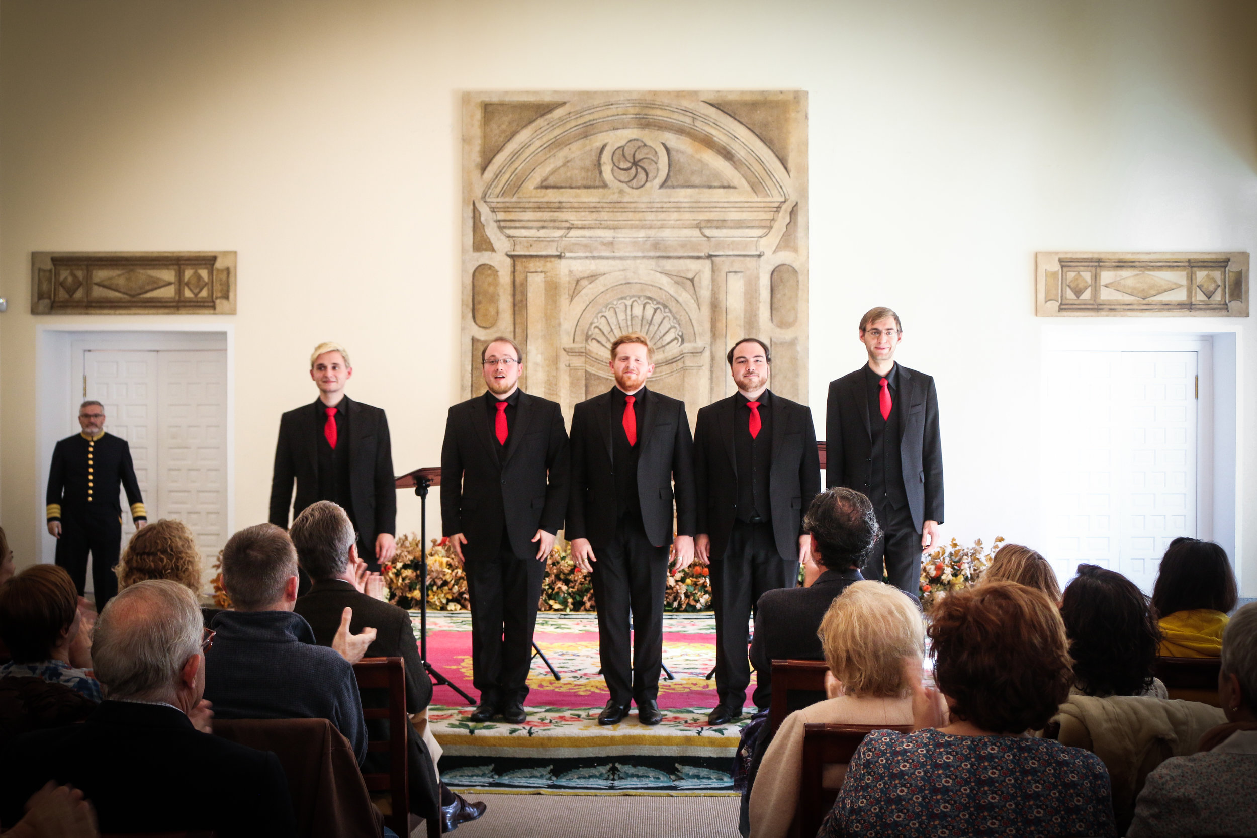 Freude im Königlichen Palast von Segovia | Great Concert in the palace of Segovia