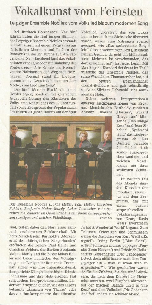 hel,  Siegener Zeitung , Holzhausen 03. Februar 2019