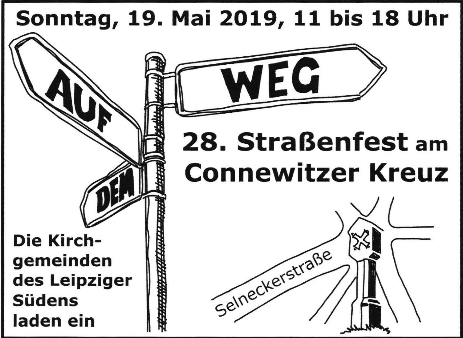 Bitte besuchen Sie auch den Stand 135 von  Aufruf 2019  direkt vor der Paul-Gerhardt-Kirche!