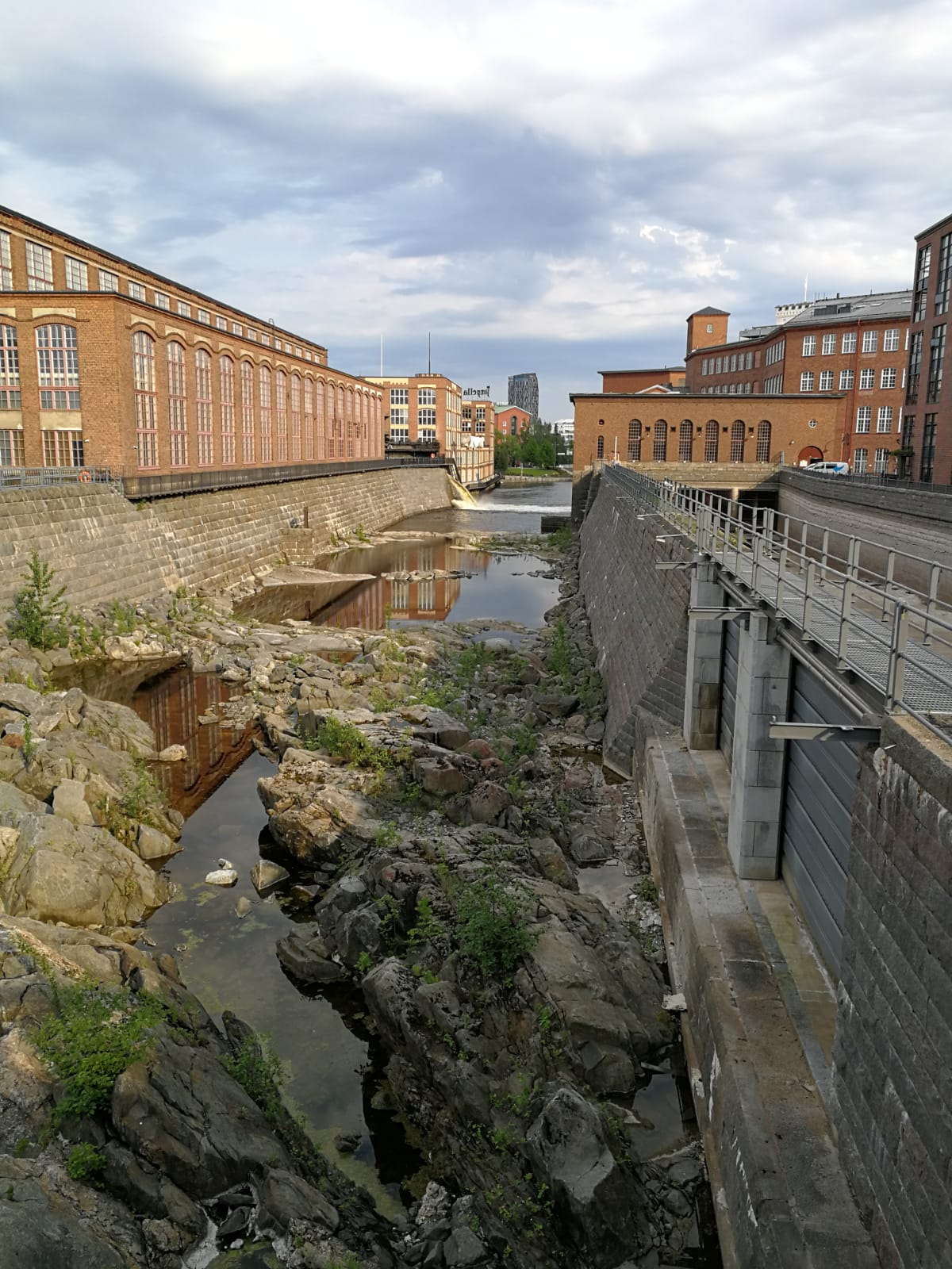 "Wiege der Industrialisierung Tamperes: ""Stromschnellen, die schnellen Strom erzeugten."" 