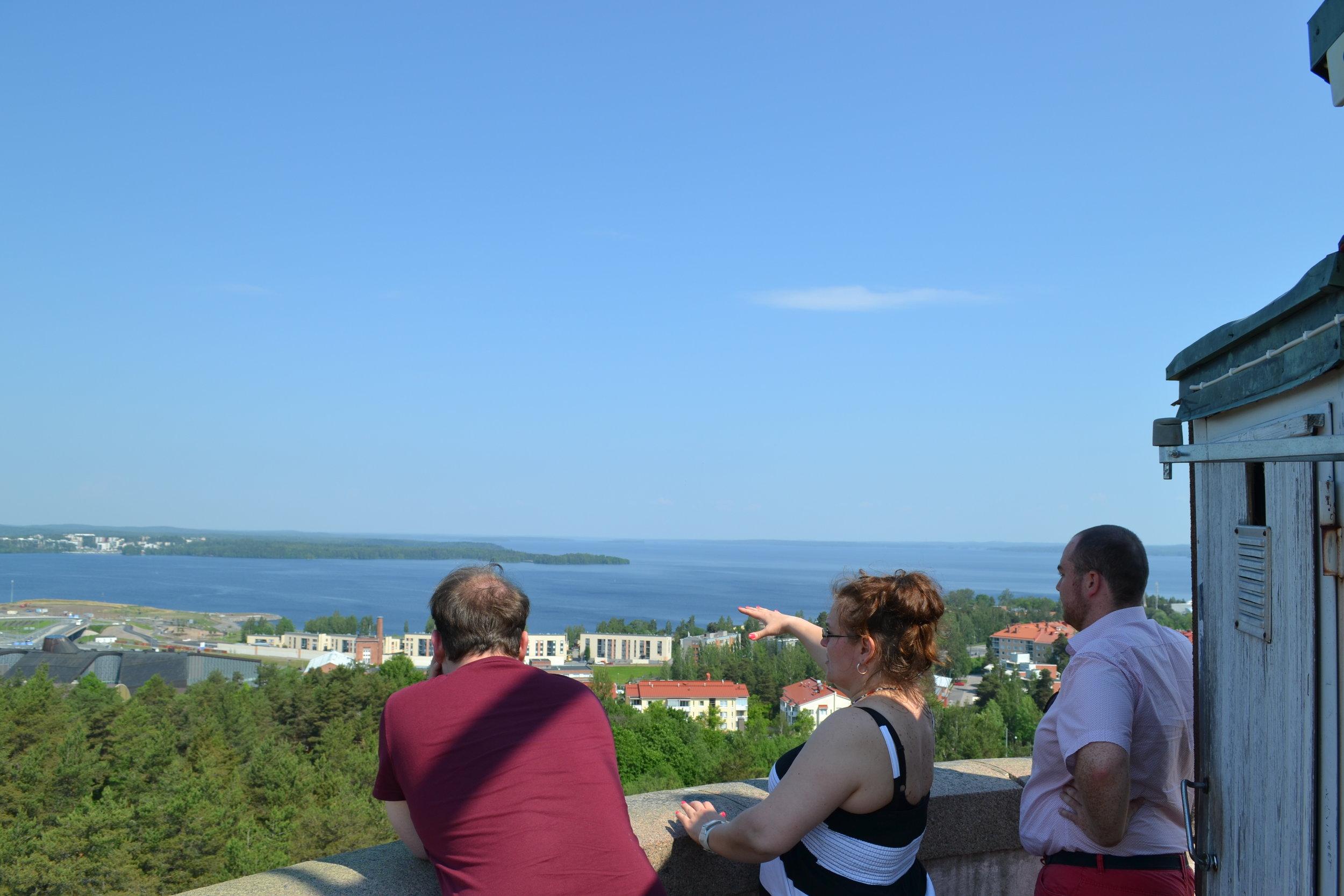 Über den Dächern Tamperes   View over Tampere