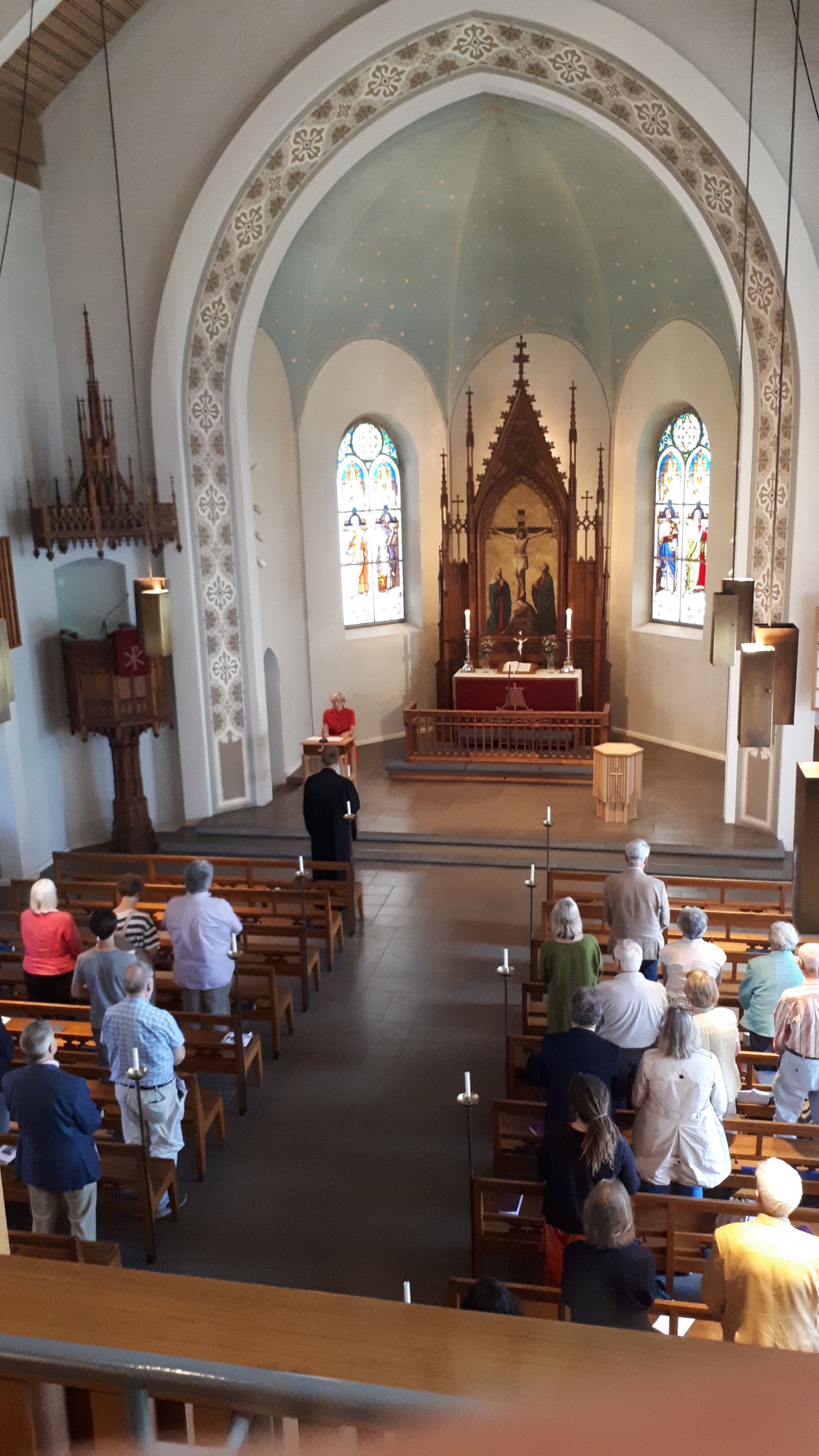 Gottesdienst in der Deutschen Kirche in … | Service at the German Church of …