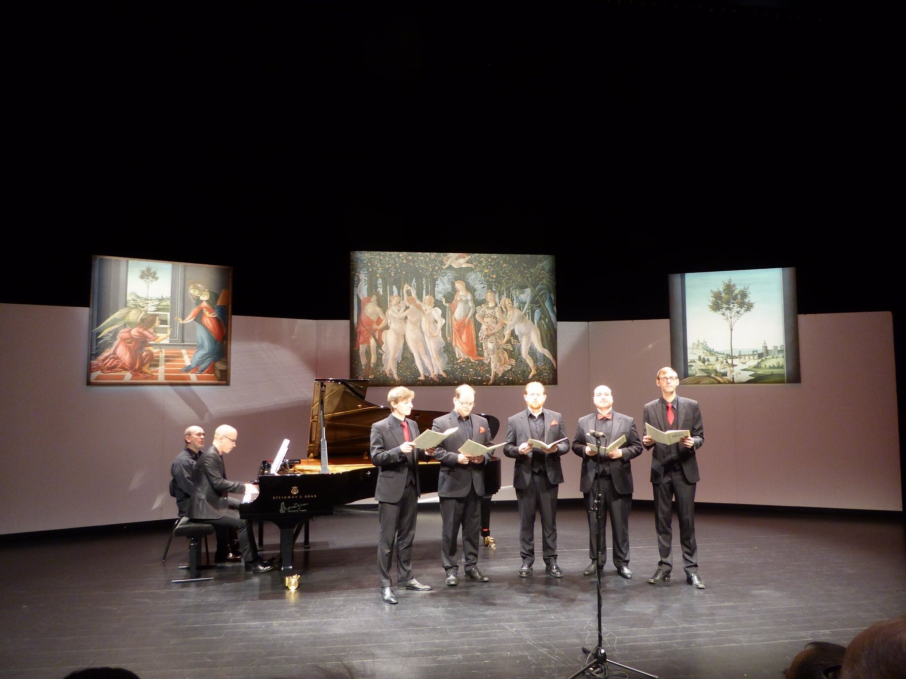 Ensemble Nobiles mit Klavier