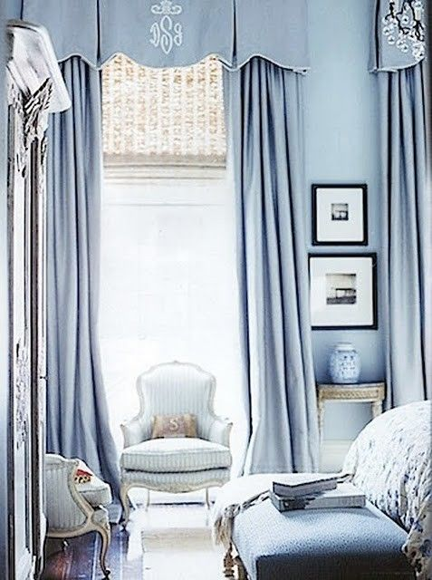 """What a sumptuous bedroom. I can hear my mother now, """"oh tucker, my favorite room by far on your latest blog post was that blue bedroom."""" she looooves blue"""