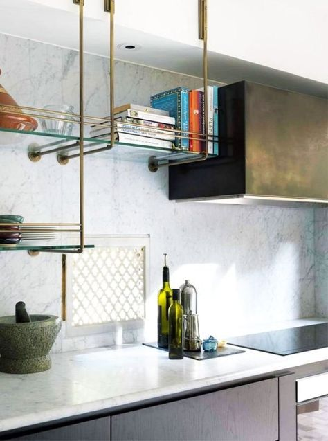 Open Shelving in the Kitchen — The Berkshire House