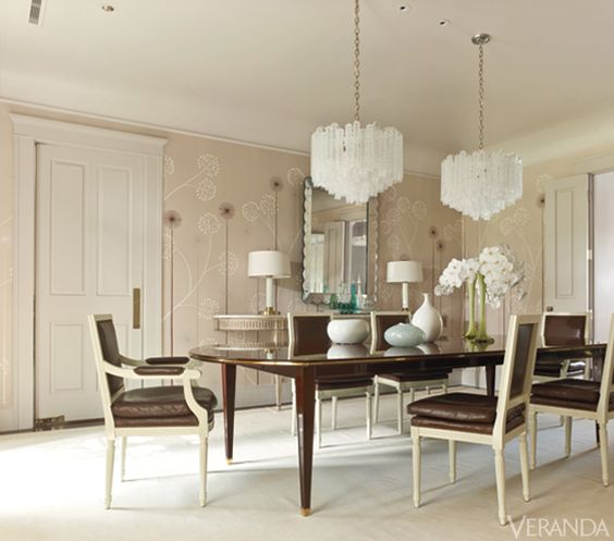 If you have a large  space  and can fit it, do two chandeliers