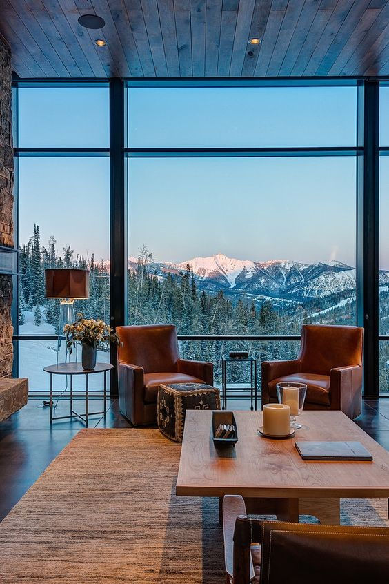 Hellooooooo mountains! via  home adore