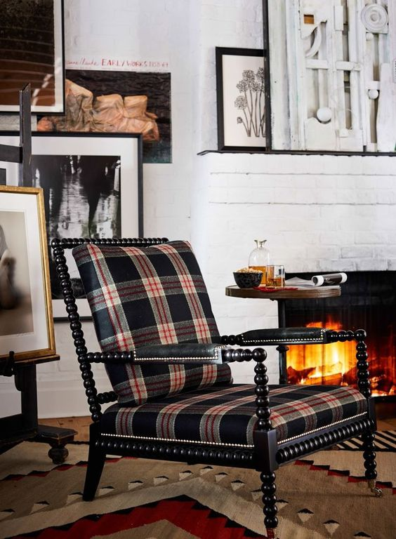 it doesn't get any more classic than  ralph Lauren  and tartans.
