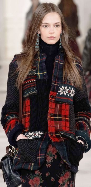 again with the  ralph lauren . he is an expert in making plaids work in a contemporary setting. he's the official 2018 Olympic outfitter for the athletes. I Can't wait to see what he's designed for the opening ceremony.
