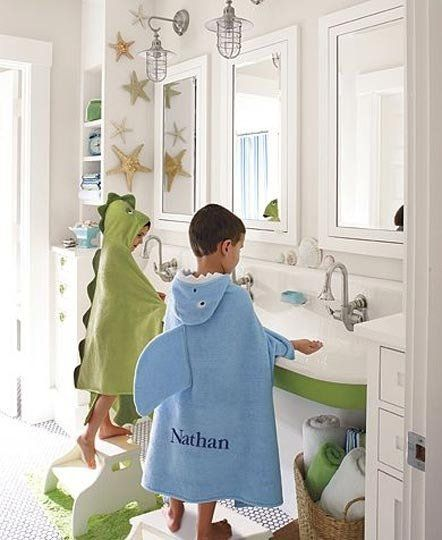 The pottery barn kids catalog that started my love of trough sinks. pottery barn kids really does make the cutest things for little kids.