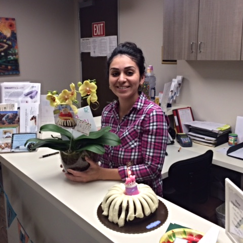 We also extend our love and gratitude to Arlen who celebrates 9 years THIS MONTHwith CCPT. Her smile and warm greetings are some of the many great strengths she shares with all of us at ccpt.