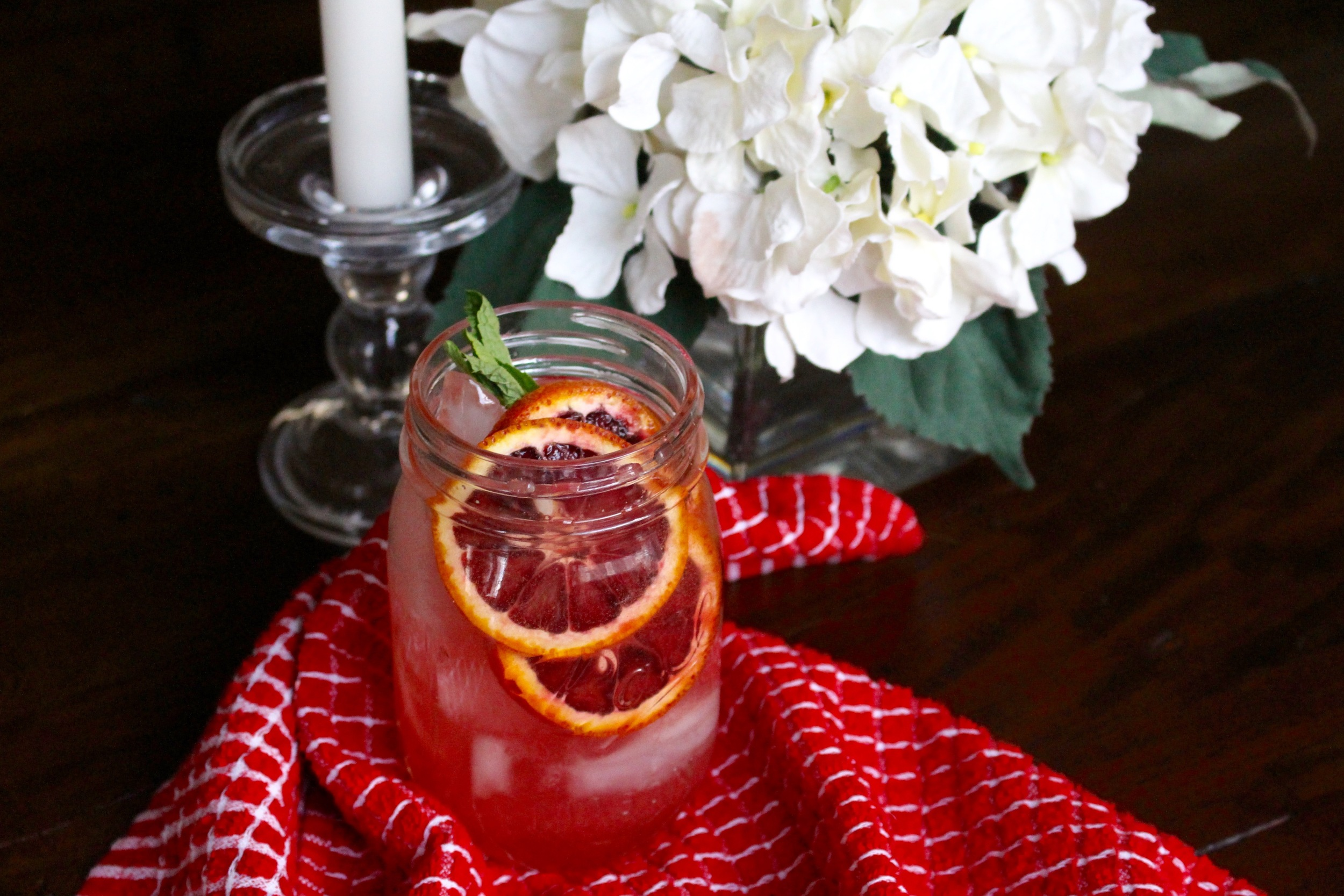 Blood Orange Champagne