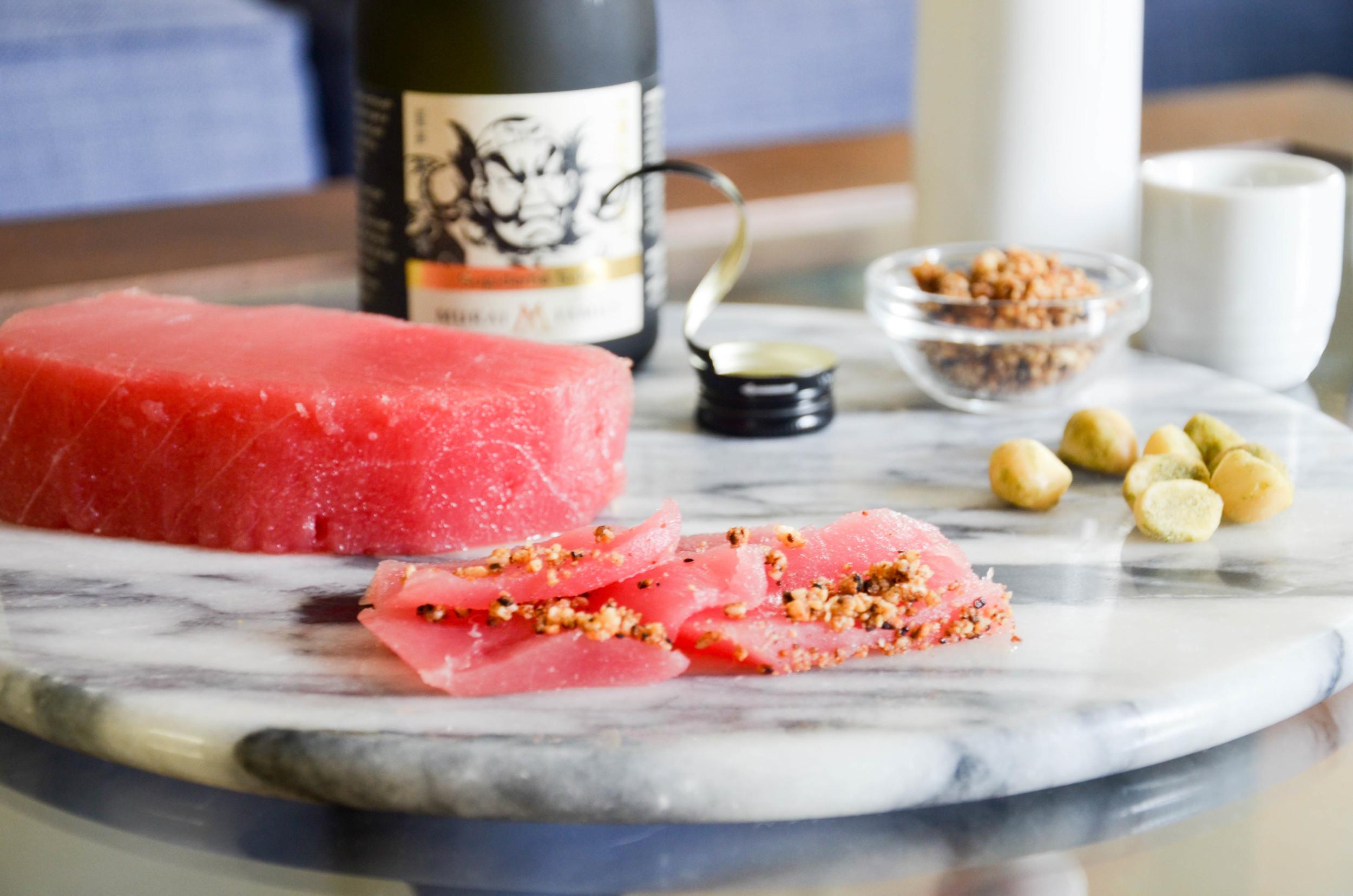 Macadamia Ahi Tuna
