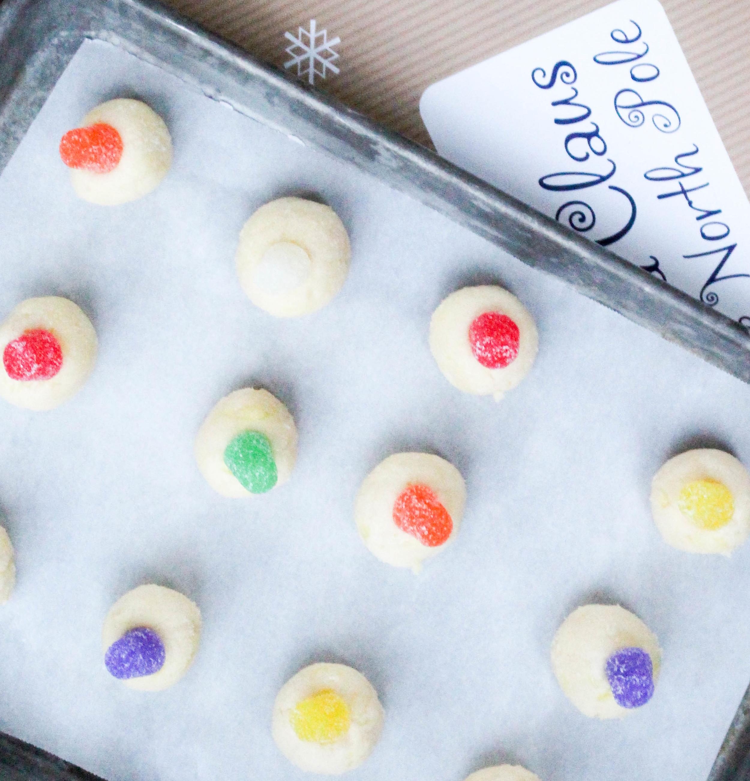 Lemon Sugar Drop Cookies