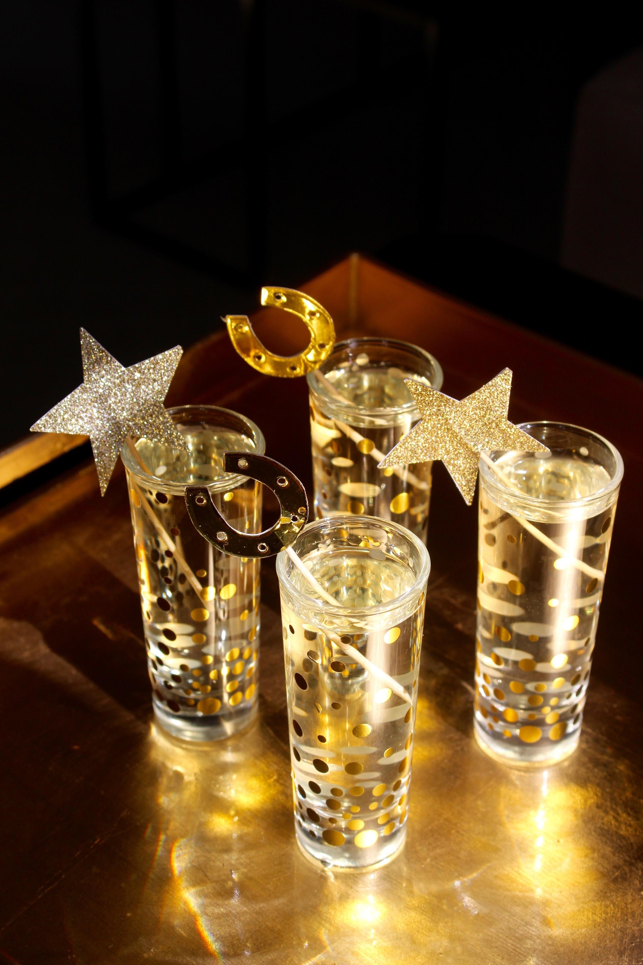 Oscar Night Champagne Shots