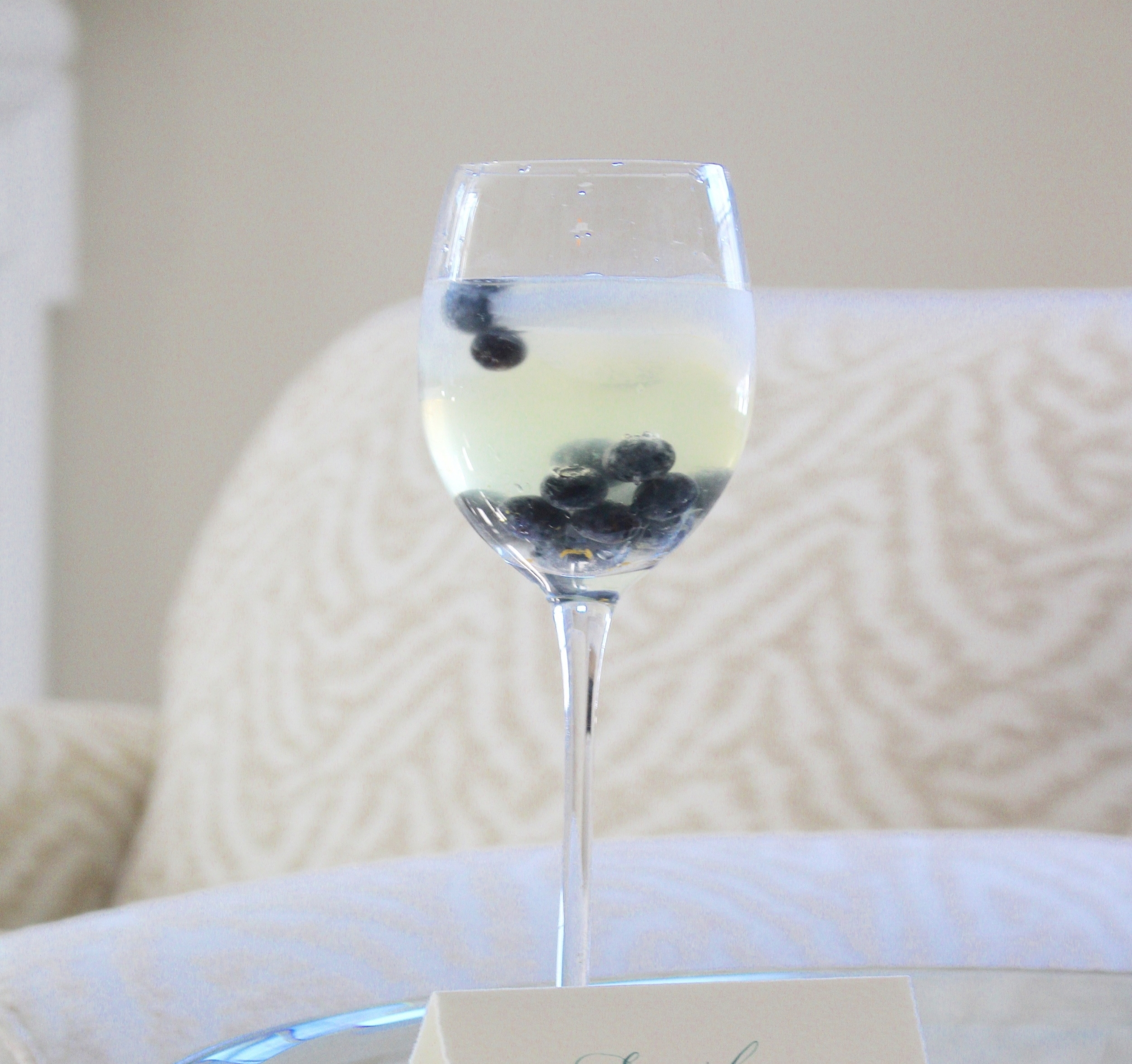 Blueberry Sparkling Wine