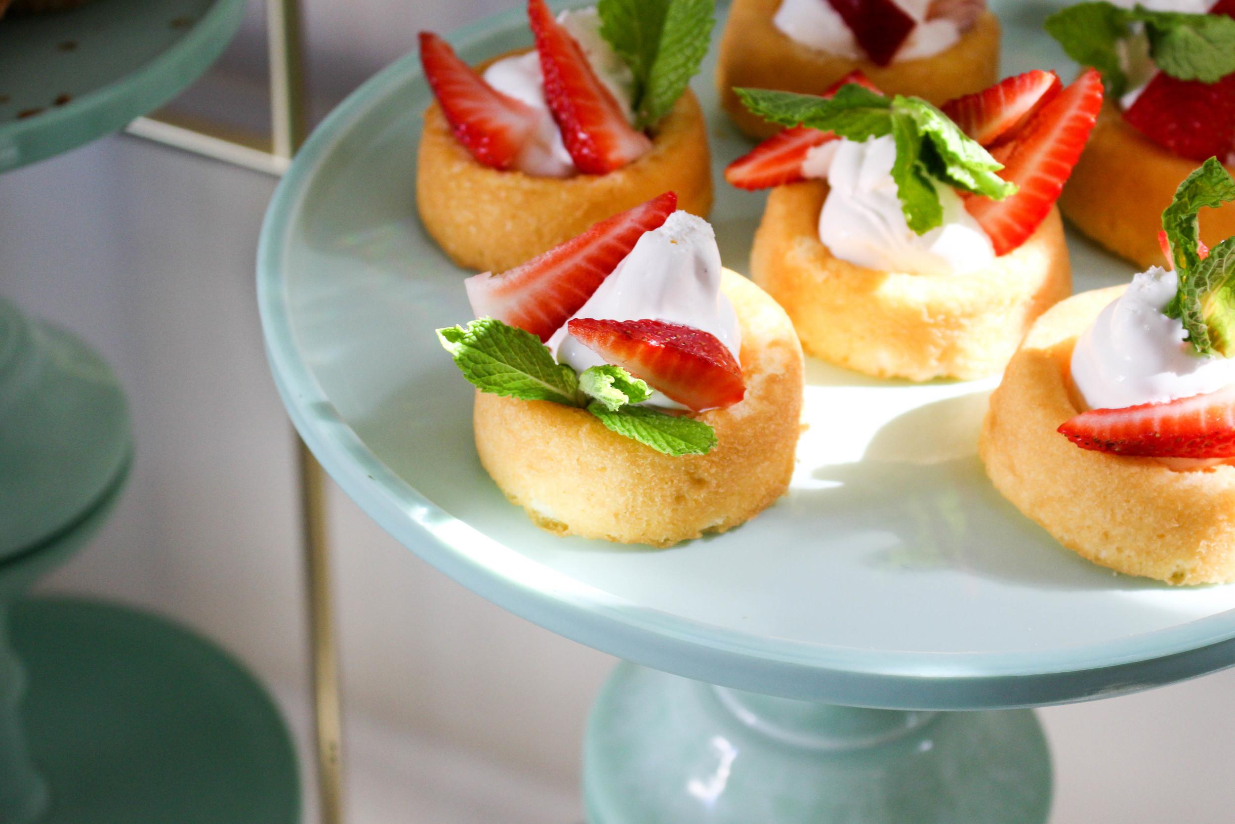 Strawberry Cakes