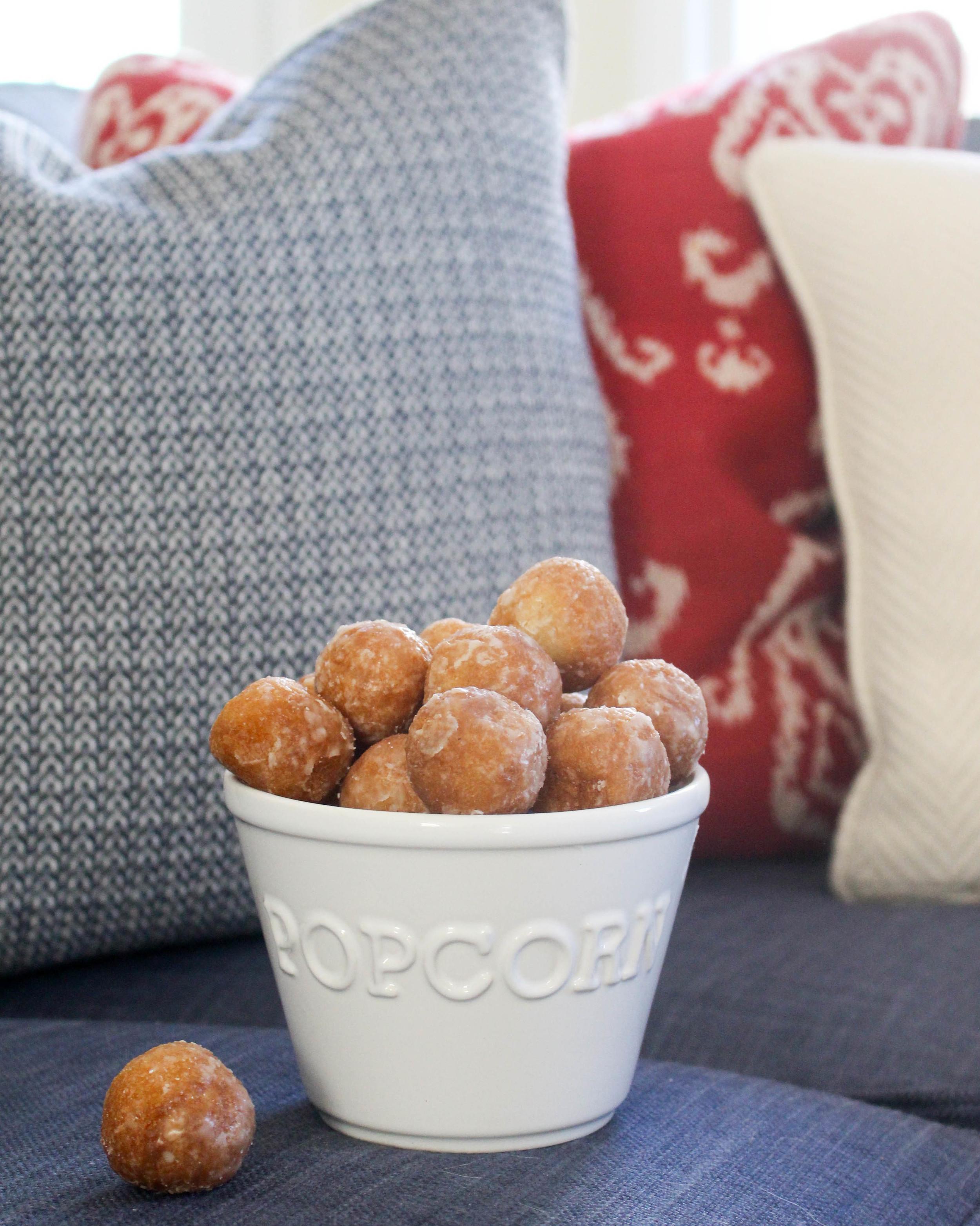 Popcorn Ball Donuts