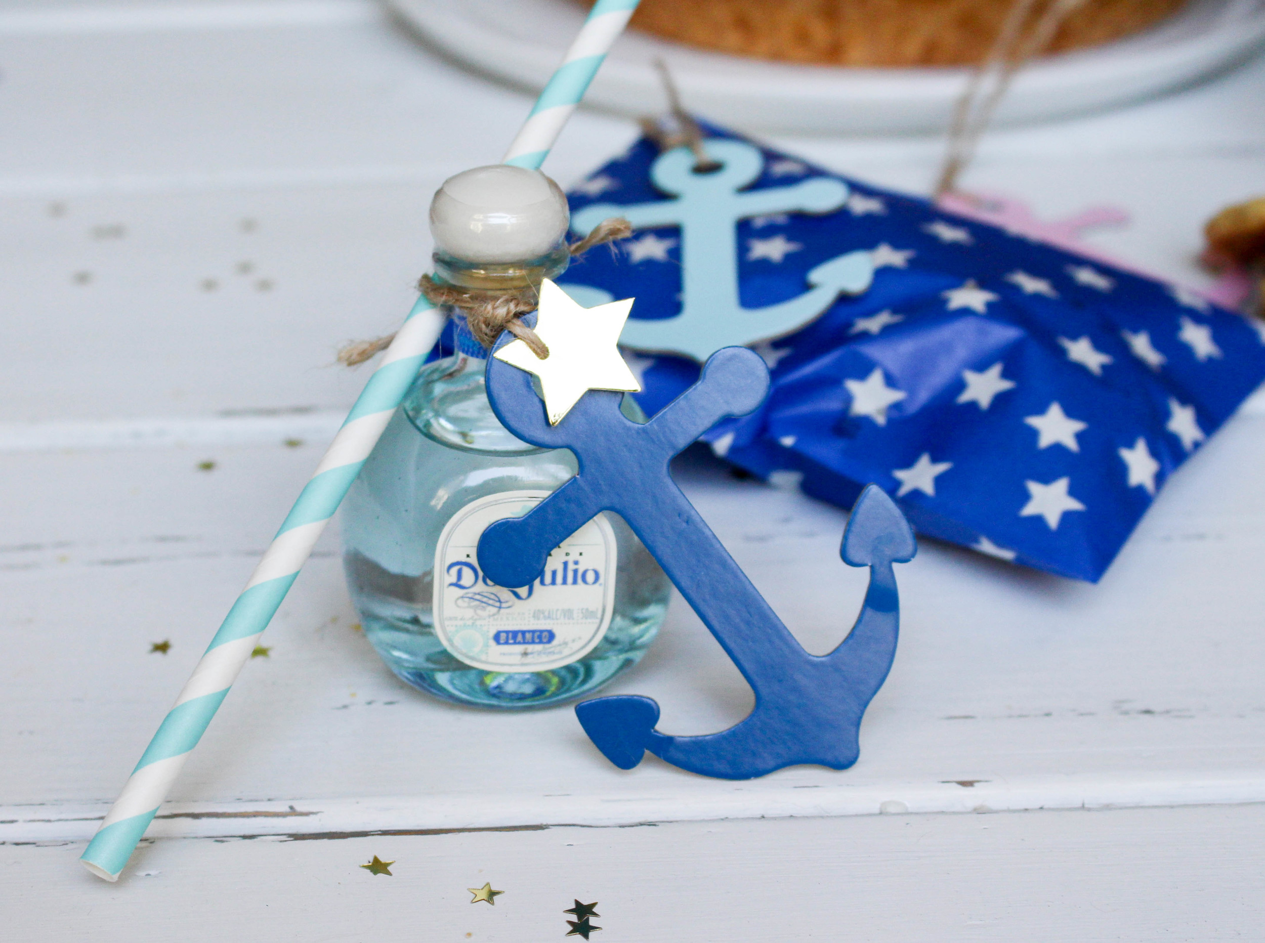 Nautical Tequila Favors