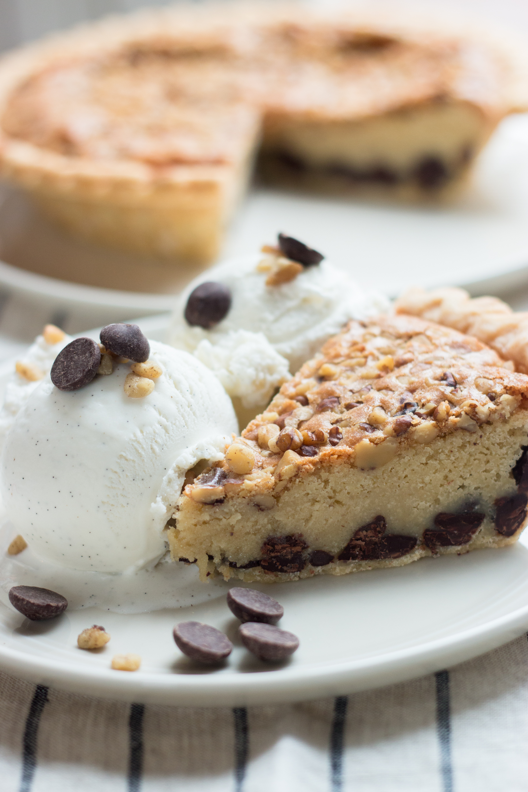 Deep-Dish Chocolate Chip Cookie Pie