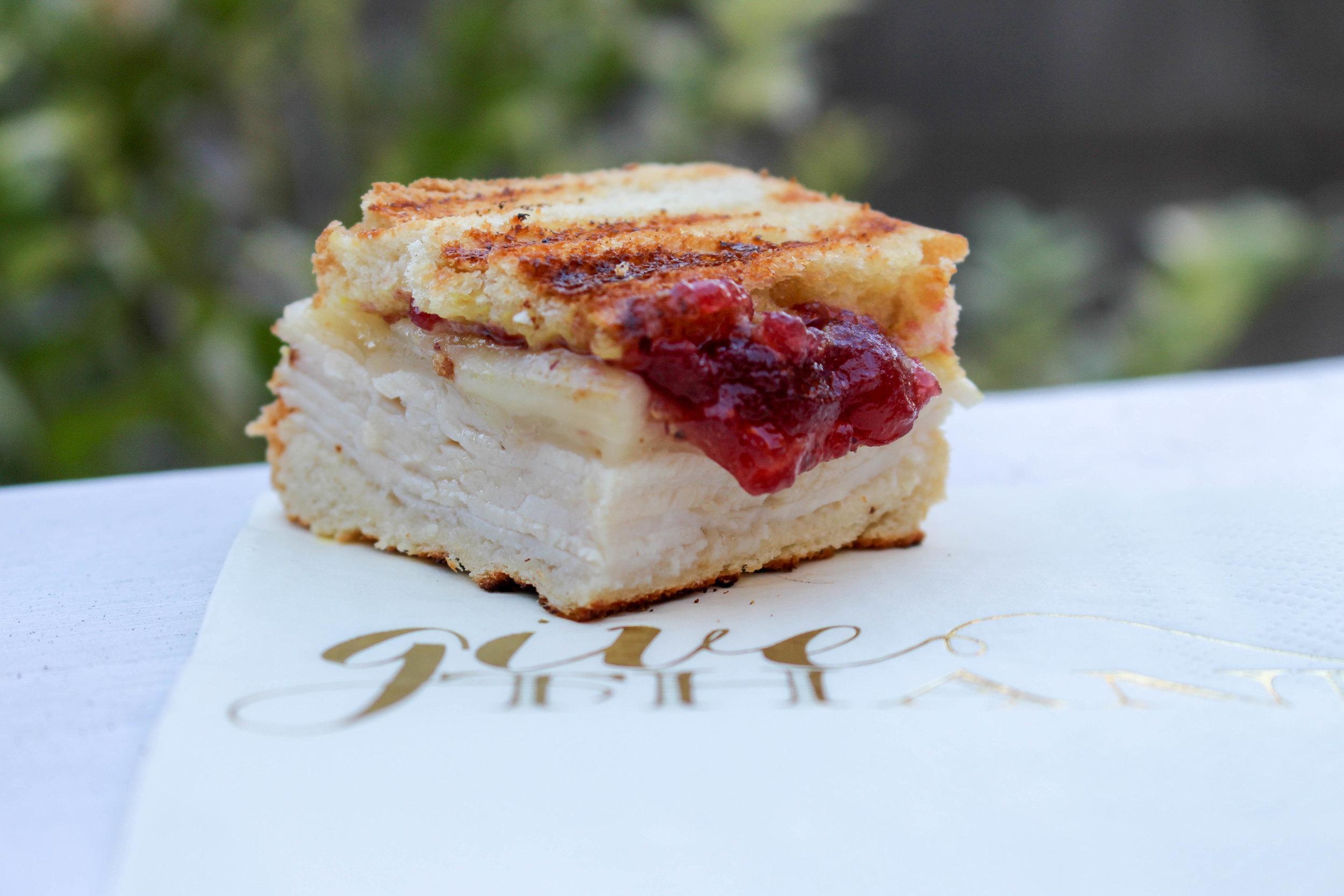 Turkey Cranberry Havarti Paninis