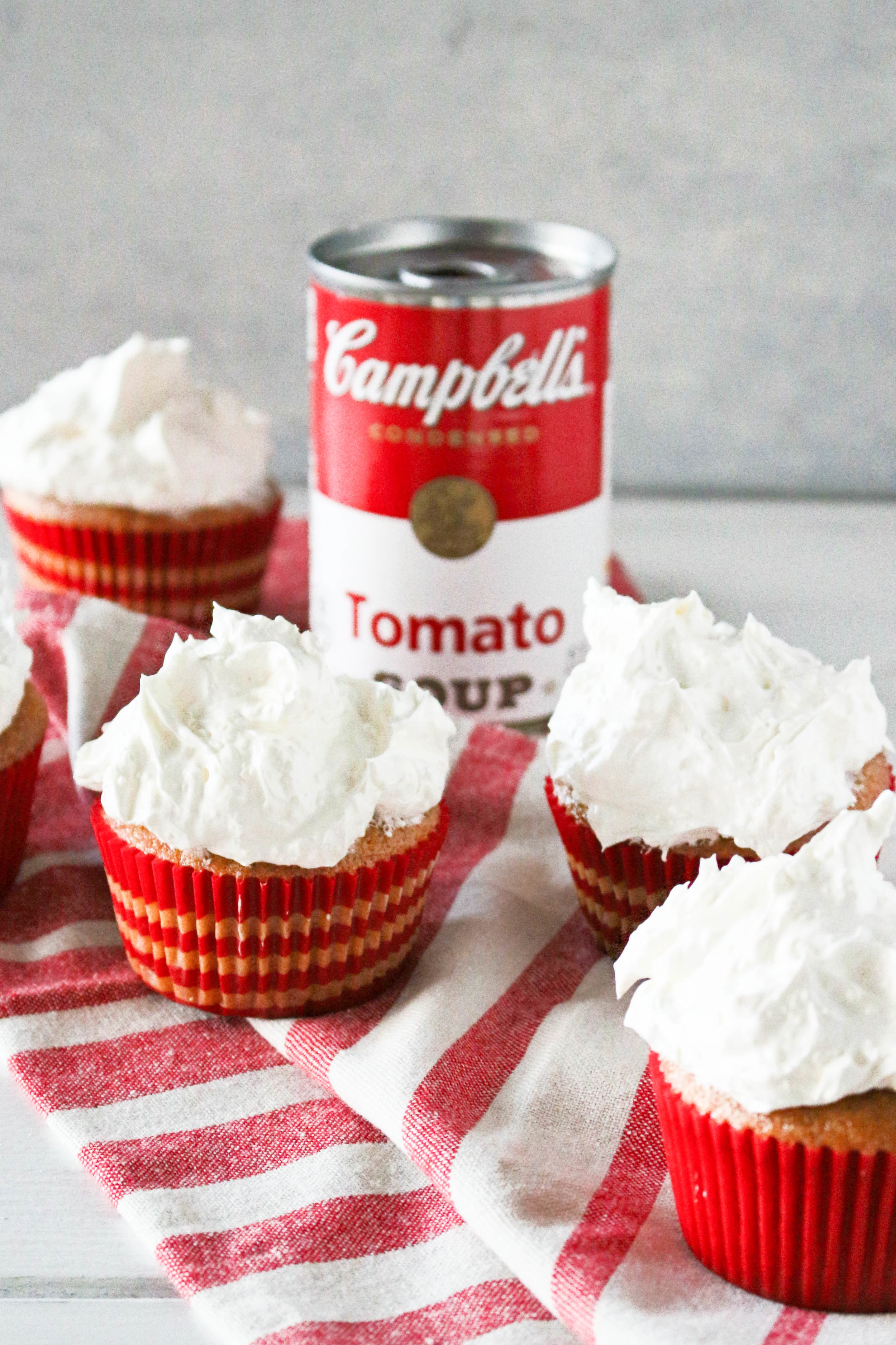 Tomato Soup Cupcakes