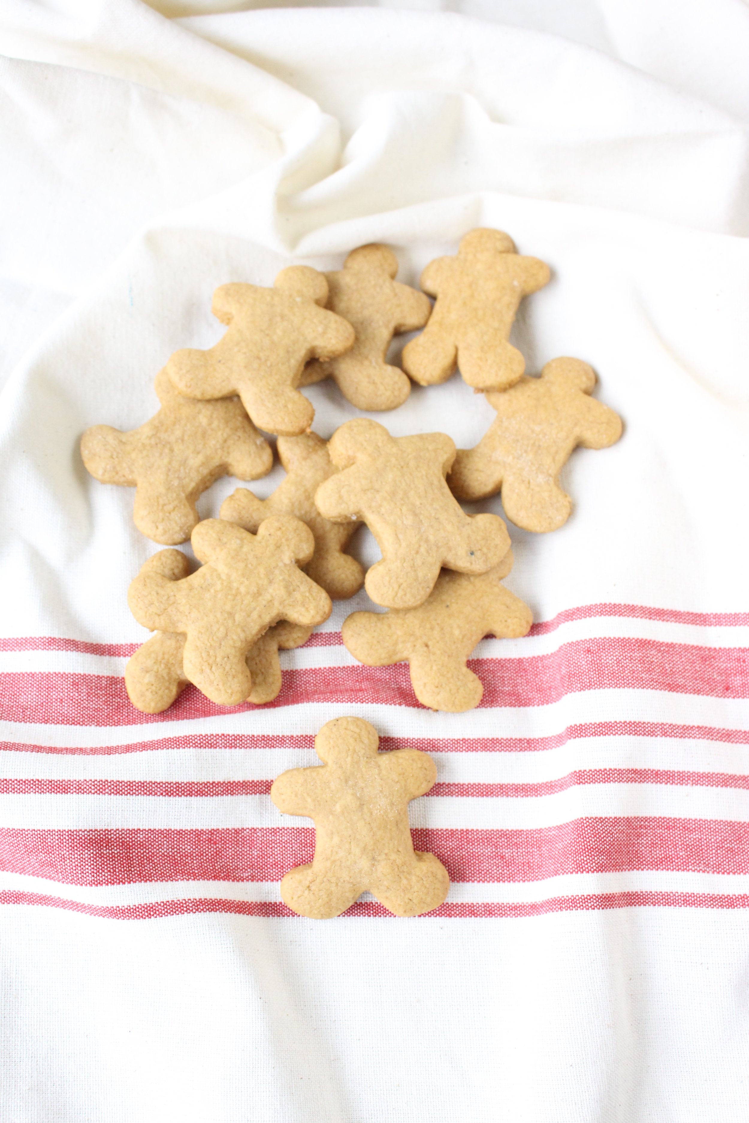 Cake Mix Gingerbread People