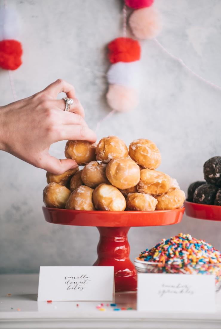Donut Bar on Martha Stewart