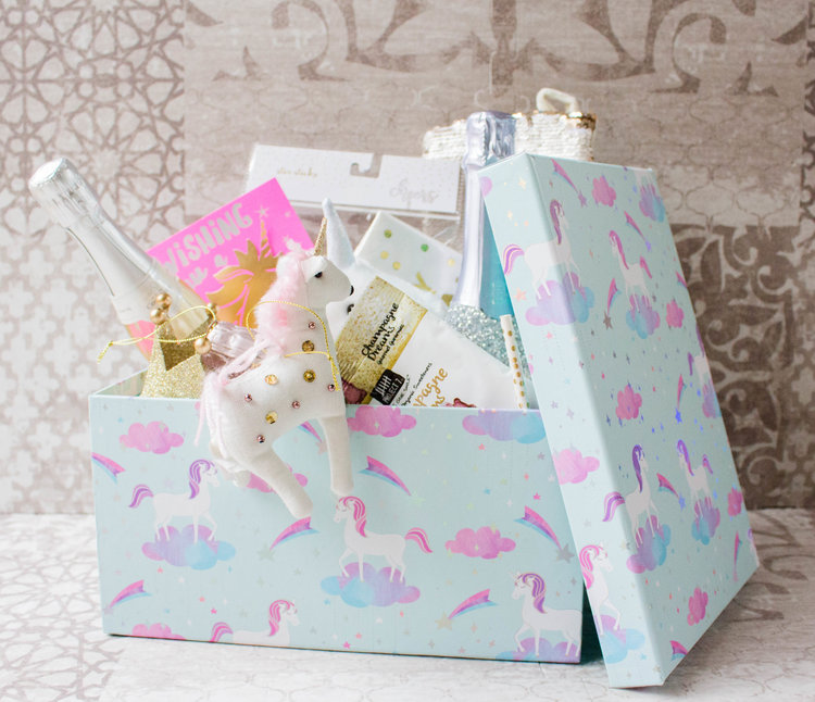 Well I Have To Say That This Sparkling Unicorn Gift Box Is Certainly An Enticing Beginning A