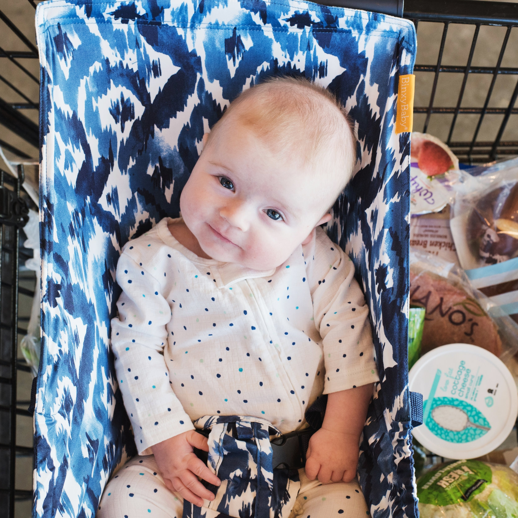 Grocery Shopping with Binxy Baby