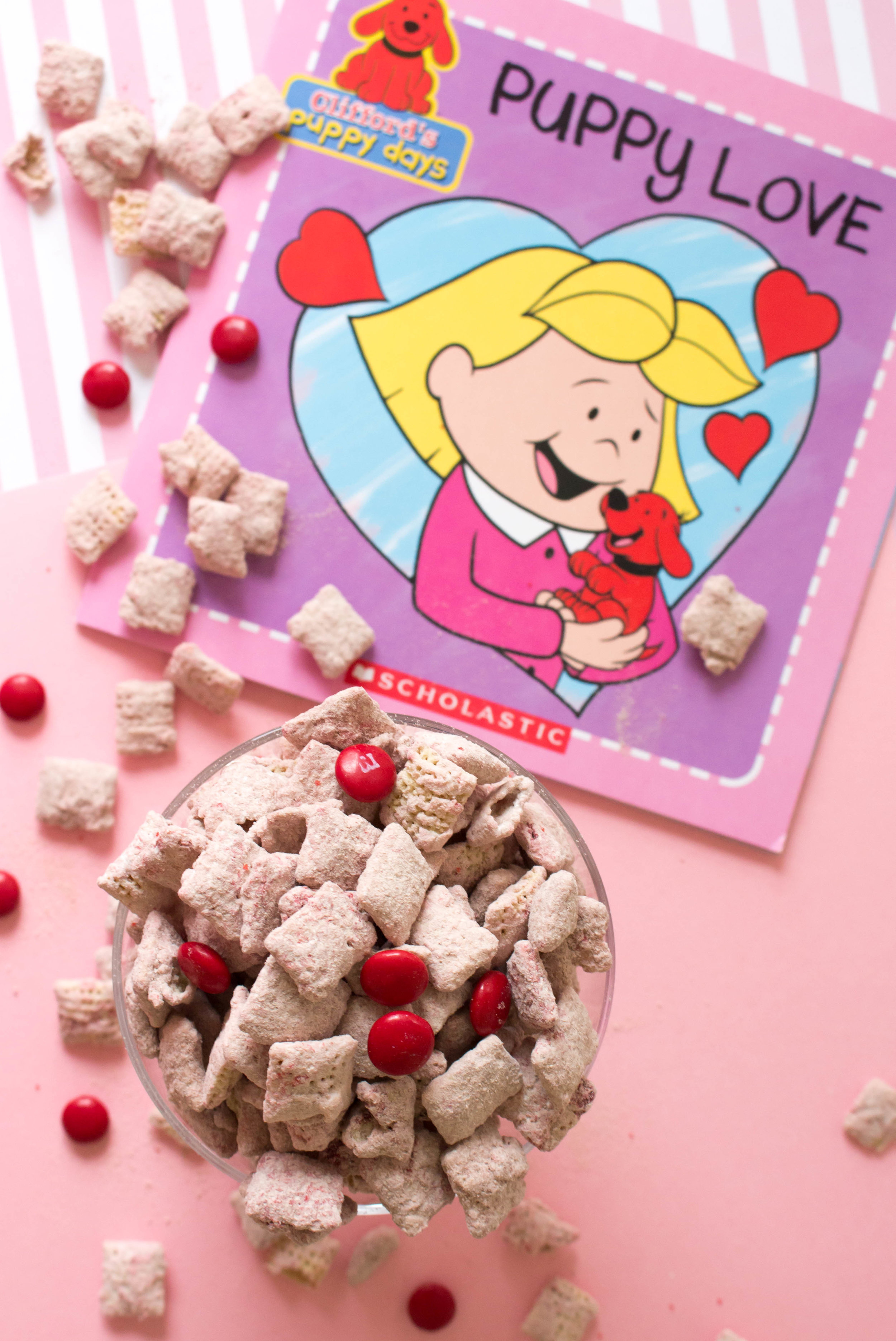 Clifford's Red Velvet Puppy Chow